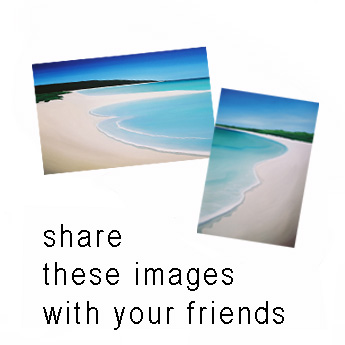 a collection of some of Mandys dunsborough beach series pictures with the words - share these images with your friends
