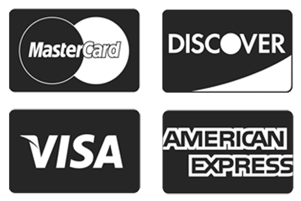 4 example credit cards accepted by paypal